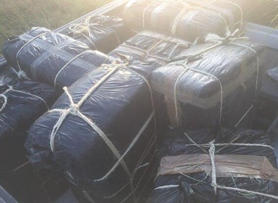 Border Patrol seized 500 pounds of marijuana Wednesday morning.