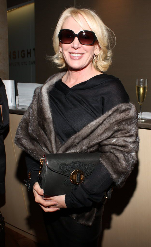 Heidi Dillon at the Insights Eye Care store opening, February 2010.