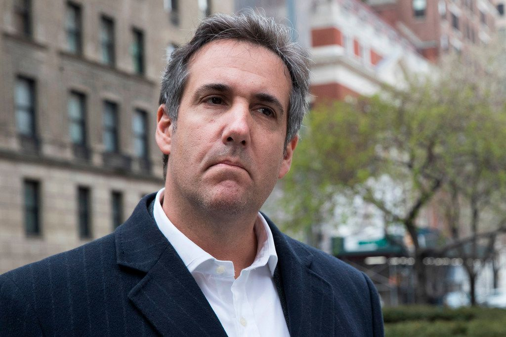 AT&T admitted Tuesday that it paid President Donald Trump's longtime personal attorney Michael Cohen. It said Cohen provided insights, not legal or lobbying work. (AP Photo/Mary Altaffer)