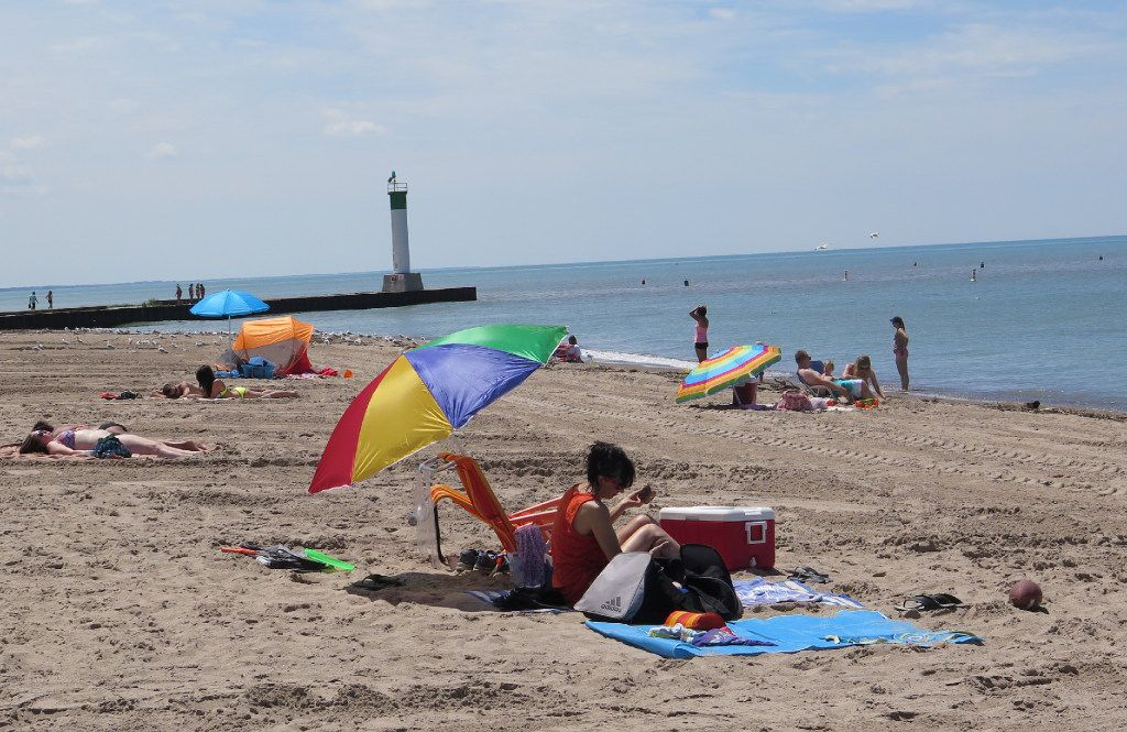Grand Bend is one of the best beach towns in Ontario, with a fine stretch of sand and fun shops and restaurants that feel like California. It's not far from the Michigan border.