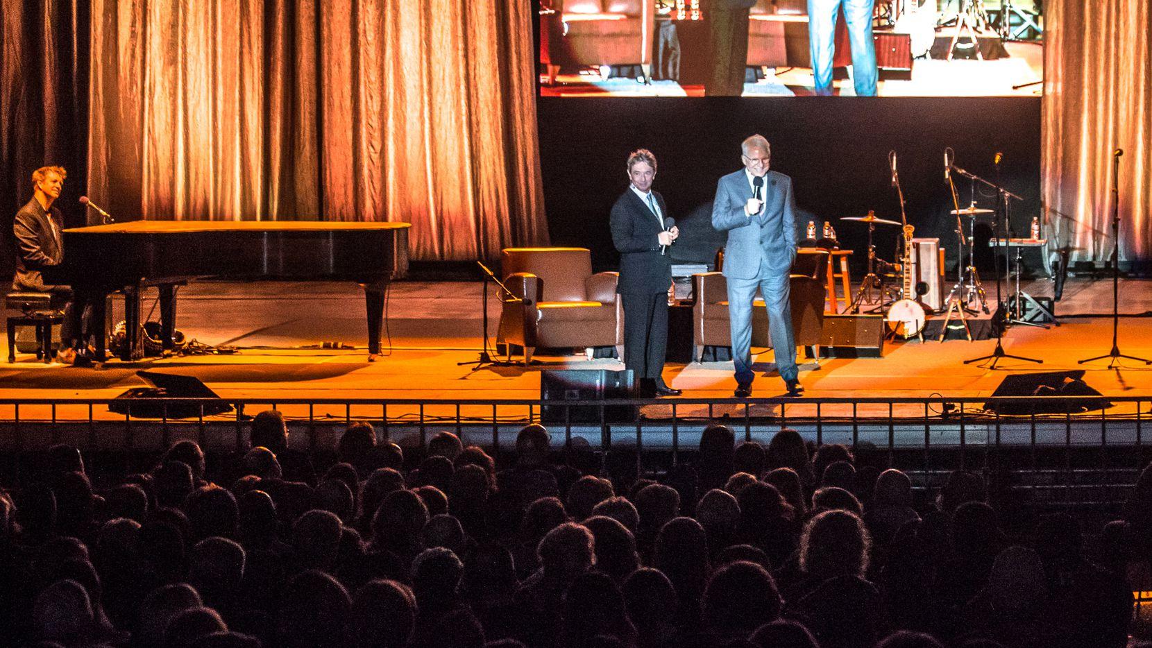 Martin Short and Steve Martin perform at Verizon Theatre in Grand Prairie on April 8.