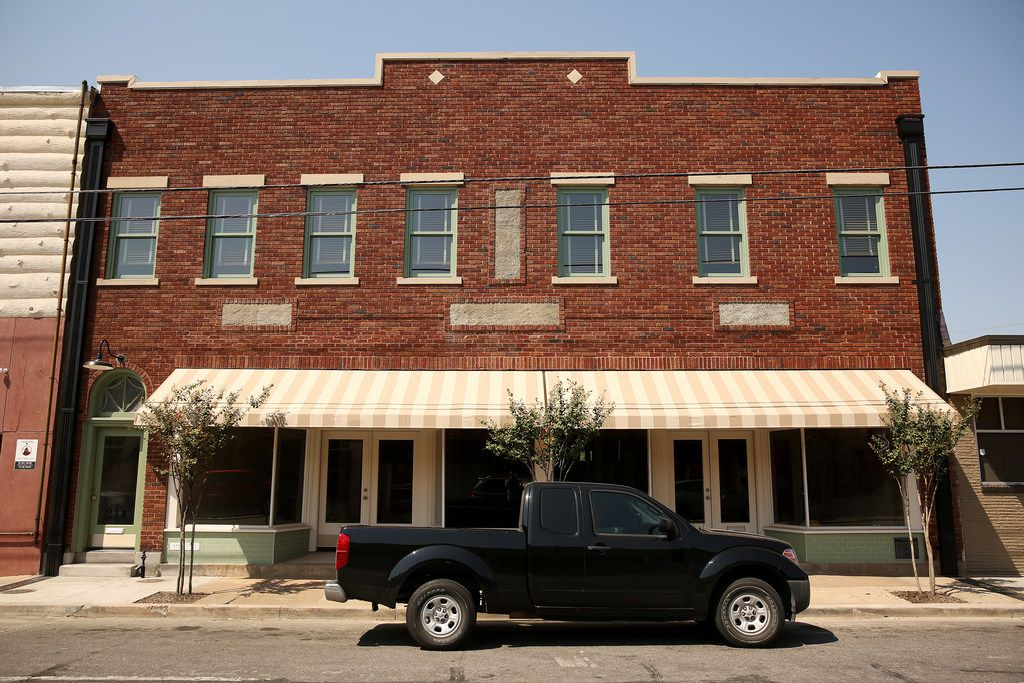 David Spence, of Good Space, has bought and renovated the old Stamps-Baxter building on Tyler Street in Oak Cliff.