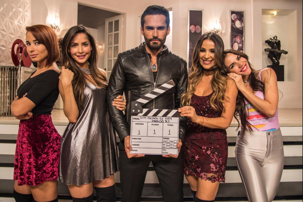 """La serie """"Sin senos sí hay paraíso"""" tendrá una segunda temporada./ TELEMUNDO"""