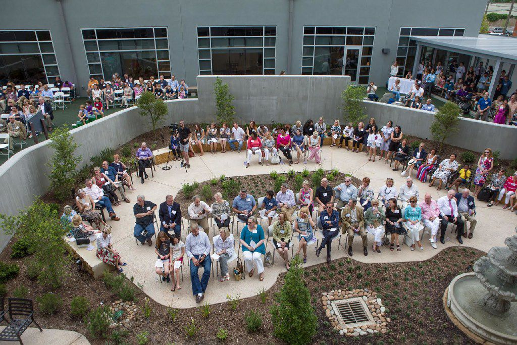 The Family Place hosted an open house for its new Ann Moody Place on June 4, 2017.