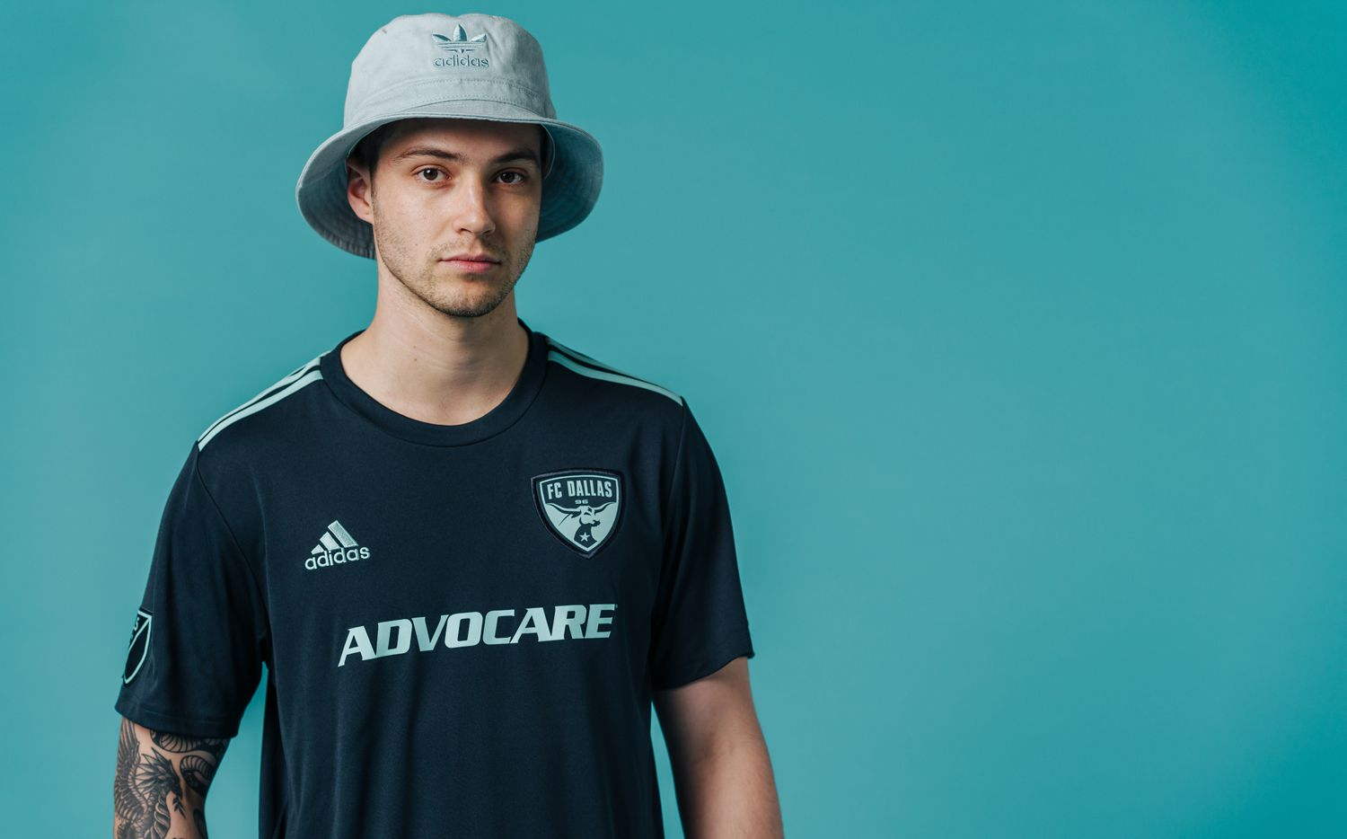 The 2019 adidas Parley jersey FC Dallas will wear on April 20th against Atlanta United.