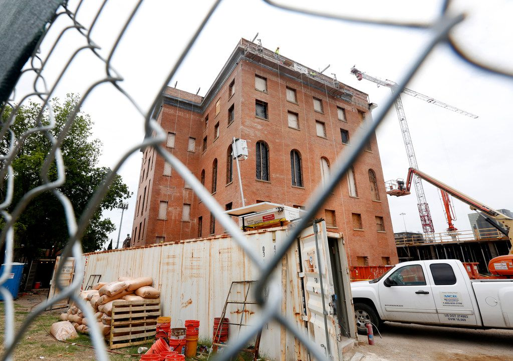 Behind the Knights of Pythias Temple is where the Epic developers say they will build the rest of The Pittman hotel, so named for architect William Sidney Pittman.