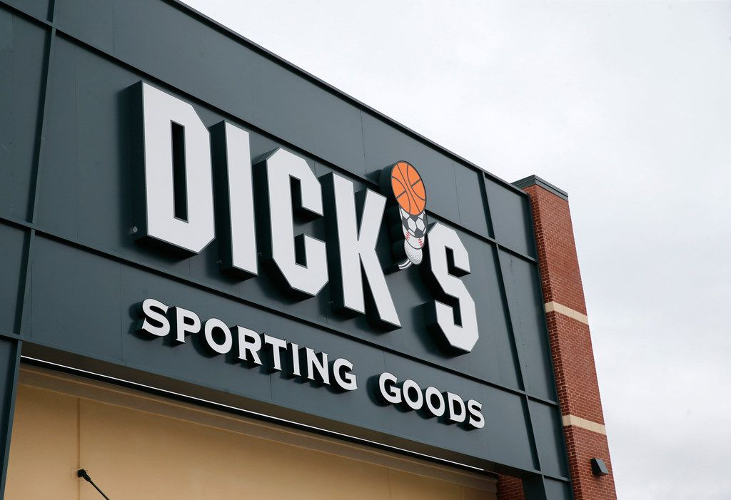 File photo of Dick's Sporting Goods.