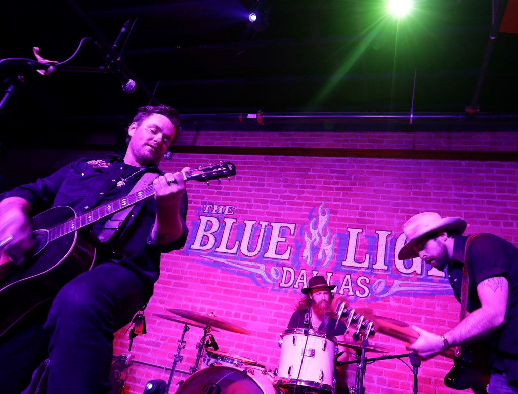 The Dalton Domino Band performs at Blue Light Live in Dallas, TX, on Oct. 19, 2018.