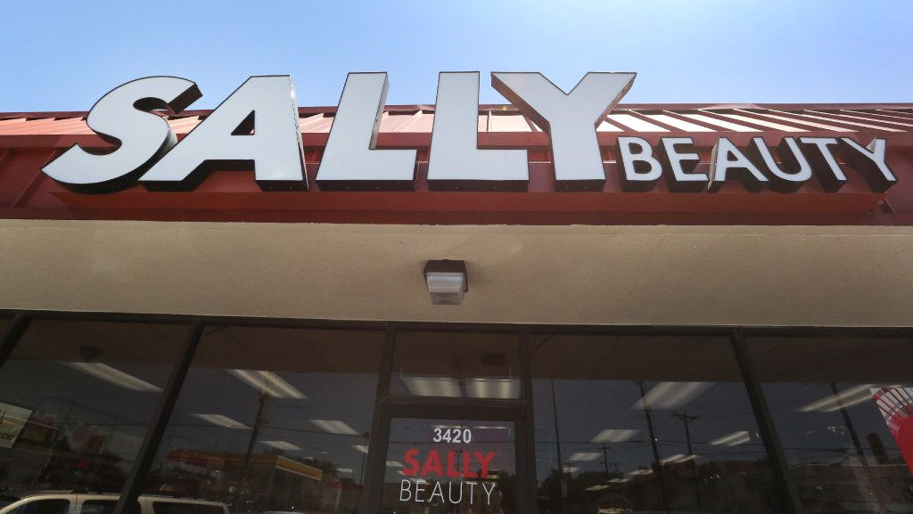 The Sally Beauty store at 3420 Oak Lawn in Dallas is among the Denton-based company's 100 stores that are being remodeled.