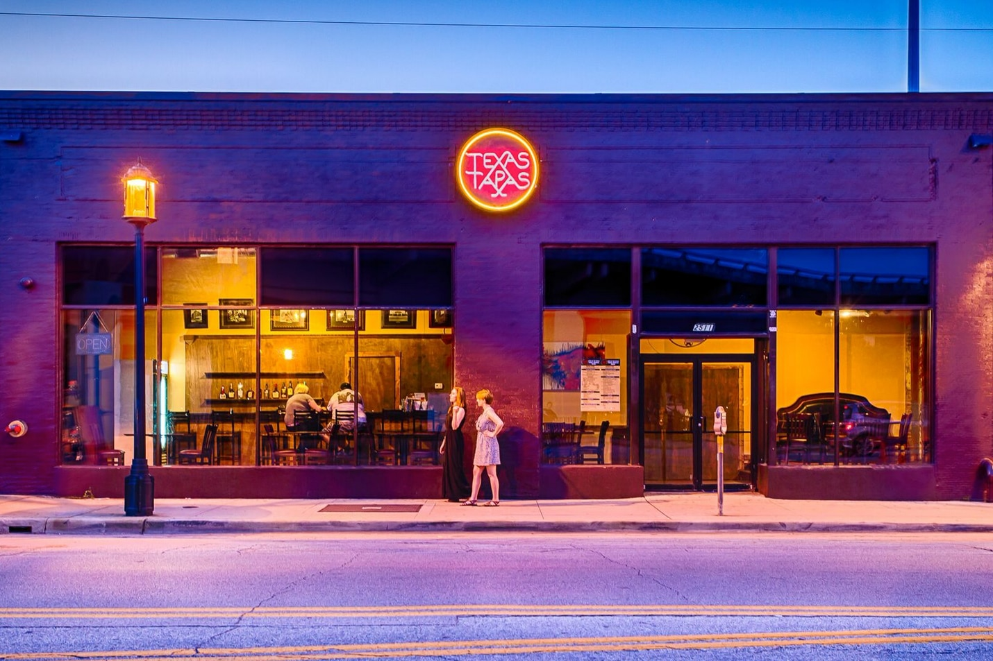 Texas Tapas is owned by the guy behind the Door and Prophet Bar in Deep Ellum.