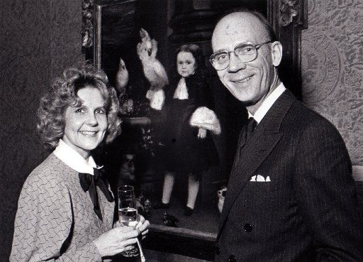 In 1986, Dianne Goode and Bill Jordan are seen in this Fete Set photo.