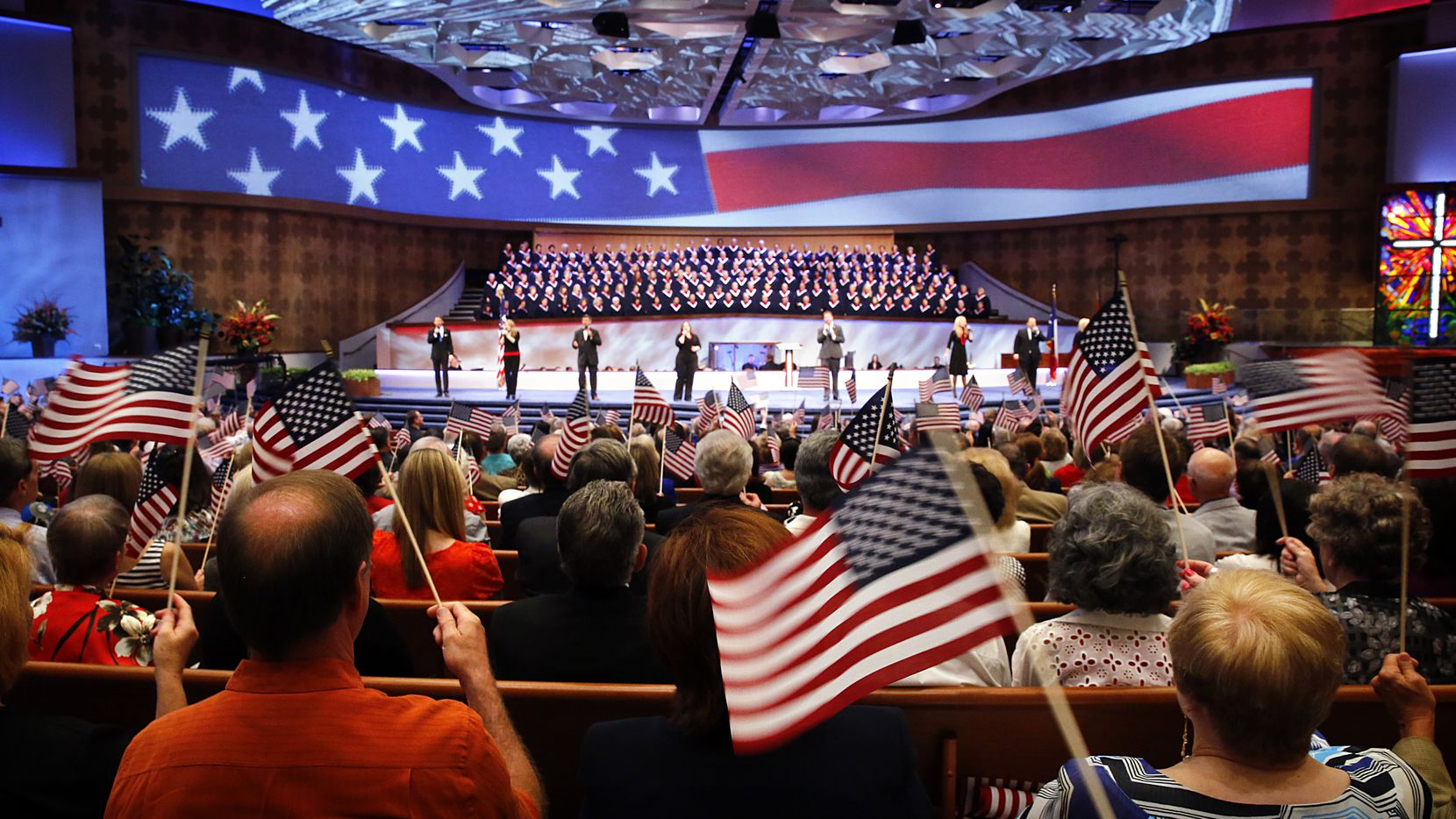 First Baptist Dallas has more than 10,000 members. (File 2013/Staff Photographer)