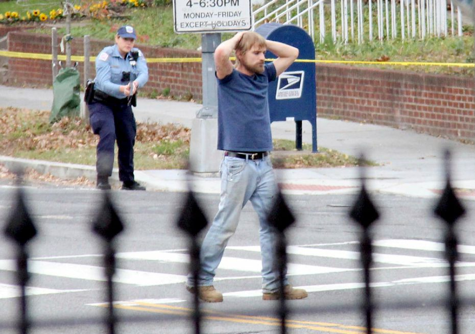 """On Dec. 4, 2016, Edgar Maddison Welch of Salisbury, N.C., surrendered to police in Washington, D.C. Welch, who walked into a Washington pizzeria with an assault rifle to investigate internet rumors dubbed """"pizzagate,"""" was sentenced in June to four years in prison."""