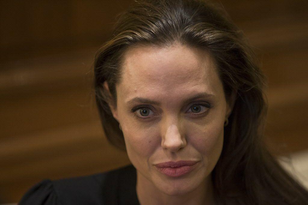 Angelina Jolie es embajadora para temas de refugiados de la ONU./AP