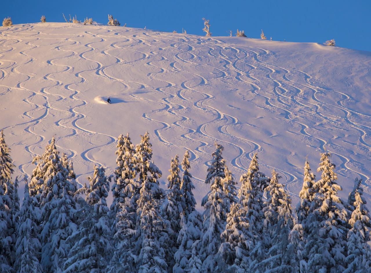 Mount Bachelor, which is 22 miles west of Bend, Ore., has new snow and could stay open until the May 24 close.