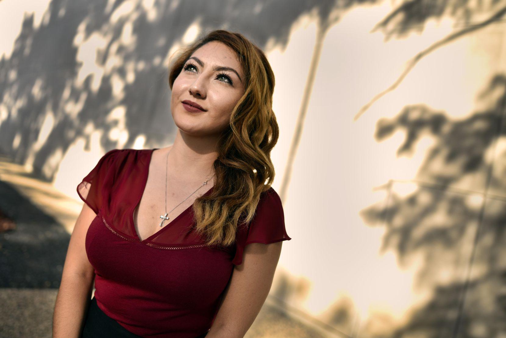 Delma Gorostieta, de 23 años, es activista y está estudiando leyes. (DMN/BEN TORRES)