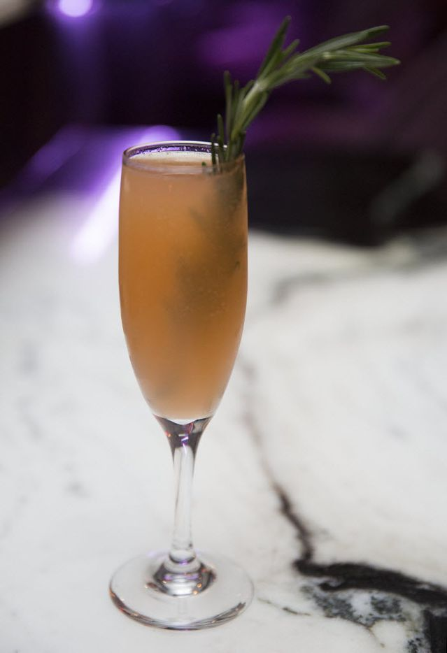 Uptown's new bar Citizen, offers a cocktail, By Land or By Sea, including Rosemary infused Pinnacle, Vodka, Aperol, honey, grapefruit and rhubarb bitters, shown Thursday, November 12, 2015. (Allison Slomowitz/ Special Contributor)