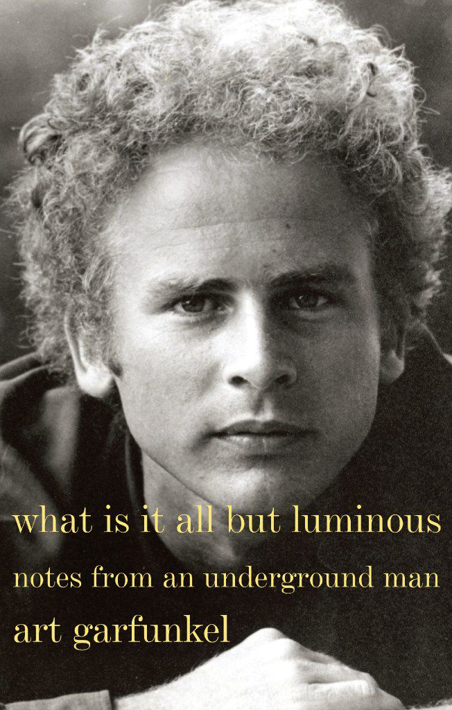 What Is It All but Luminous: Notes From an Underground Man, by Art Garfunkel.