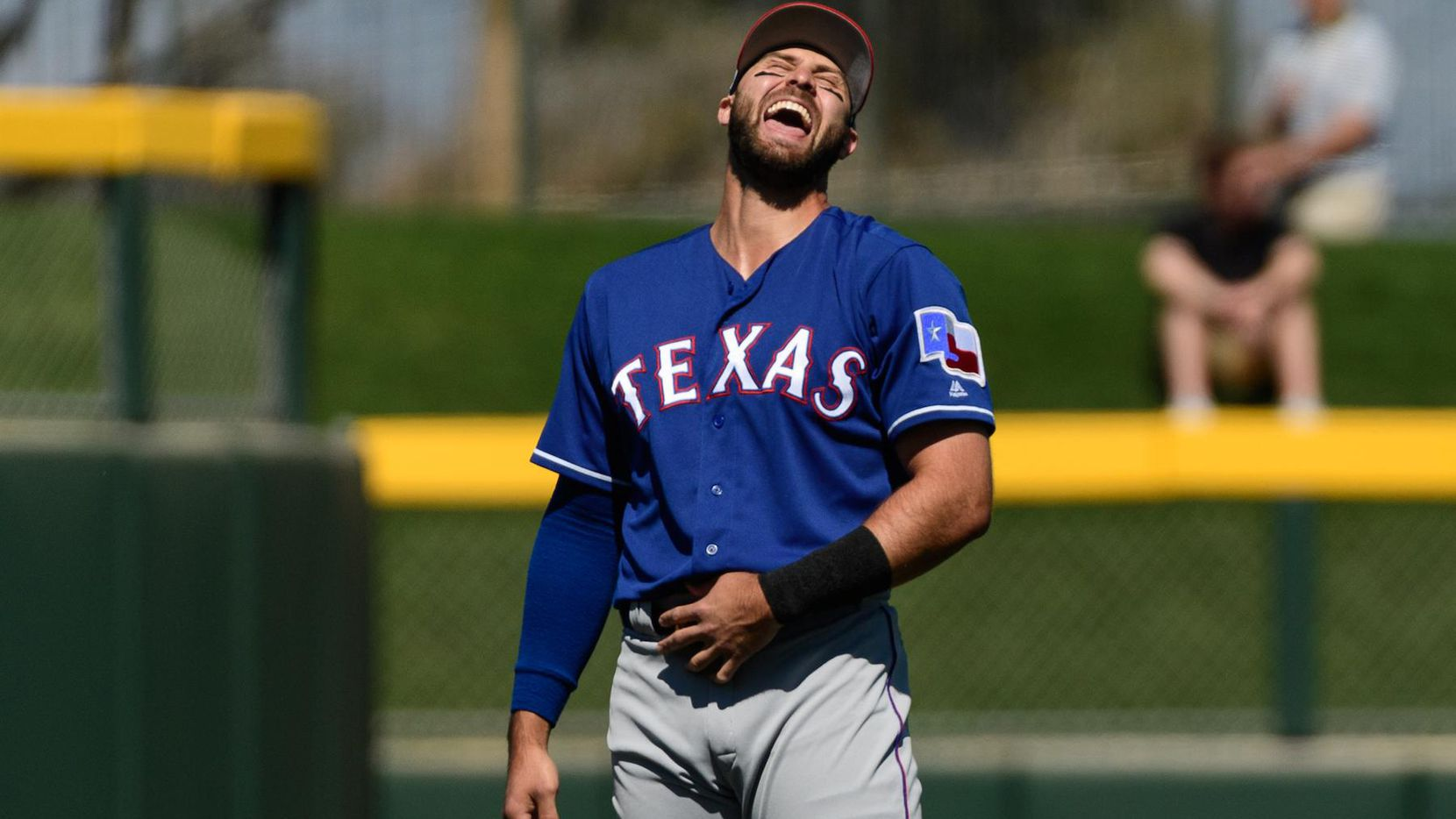Joey Gallo de los Rangers de Texas.(GETTY IMAGES)