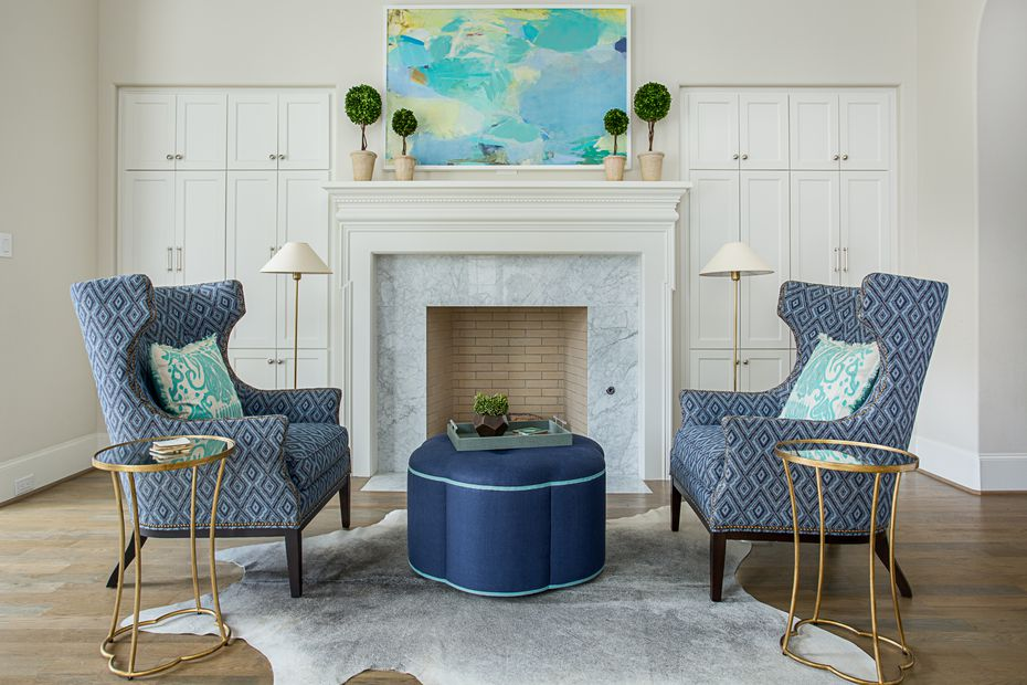 You can't go wrong with comfy fireside wing chairs, says Emily Larkin.