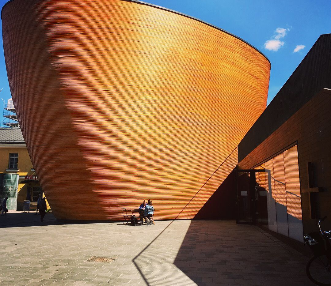 The Kamppi Chapel of Silence offers a quiet, contemplative spot in one of the busiest areas of Helsinki.