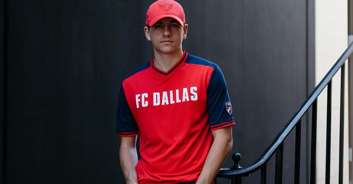 Paxton Pomykal, the face of FC Dallas.