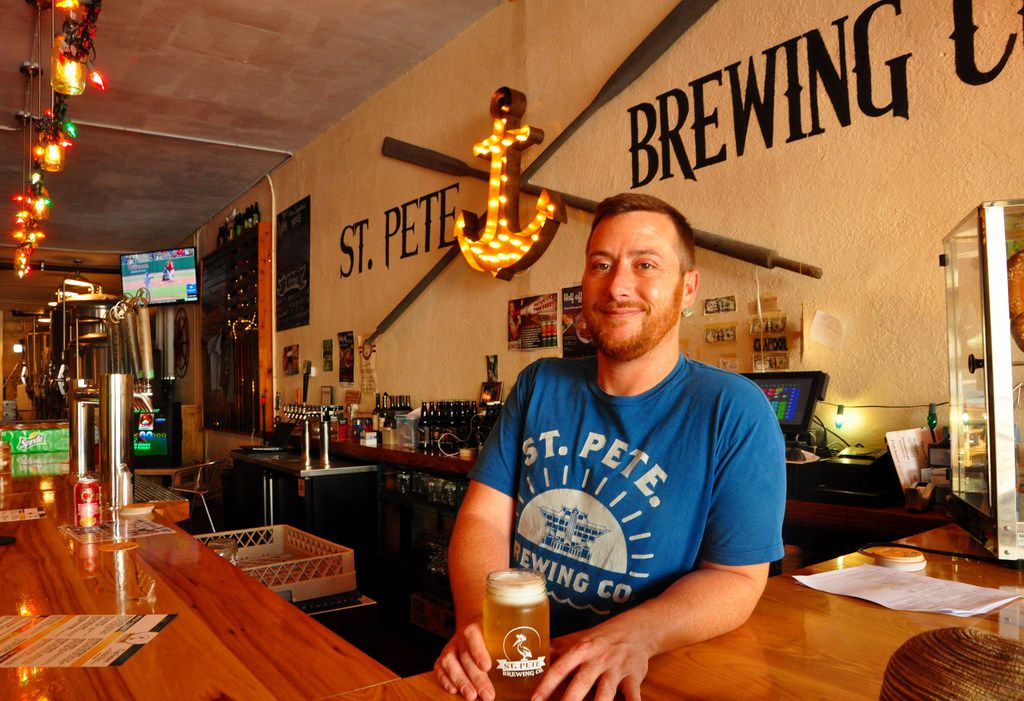 St. Petersburg, Fla., has changed from a retirement community to a vibrant city of art, craft breweries and new-age restaurants, says Neil Keidel of the St. Pete Brewing Co.