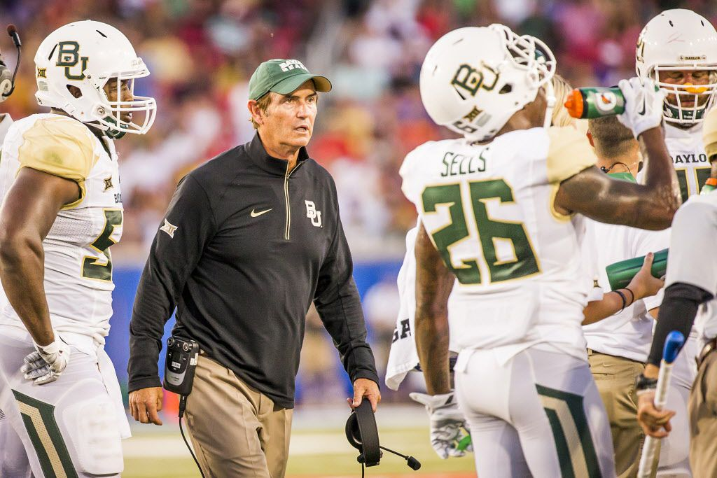 With the firing of coach Art Briles, Baylor has been in touch with the NCAA about possible rules violations, board of regents chairman Richard Willis said.  (Smiley N. Pool/The Dallas Morning News)