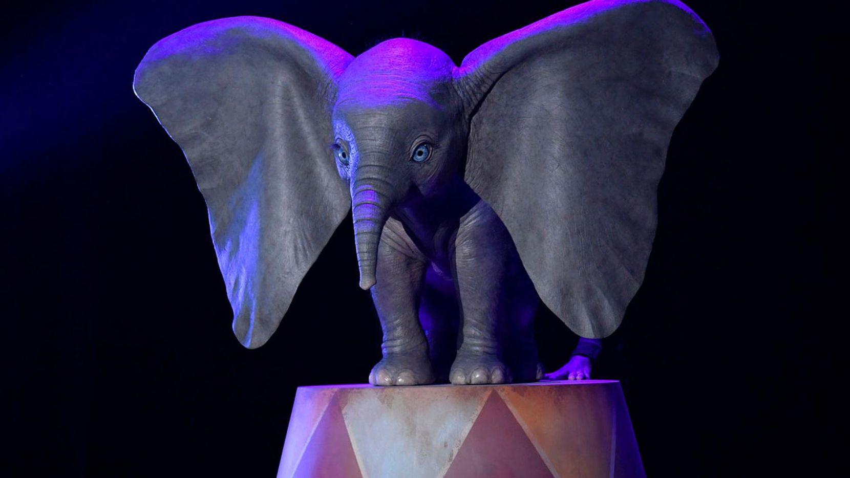 Imágen distribuída por Disney de la nueva cinta 'Dumbo'.(CORTESIA DISNEY)