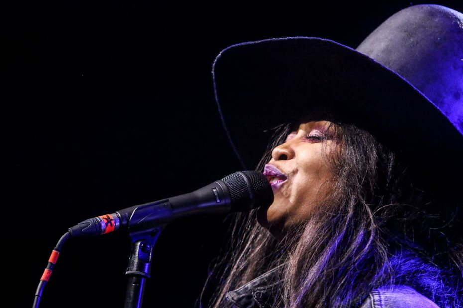 Erykah Badu celebrated her 45th birthday with a bash at The Bomb Factory in Deep Ellum on Feb. 26.