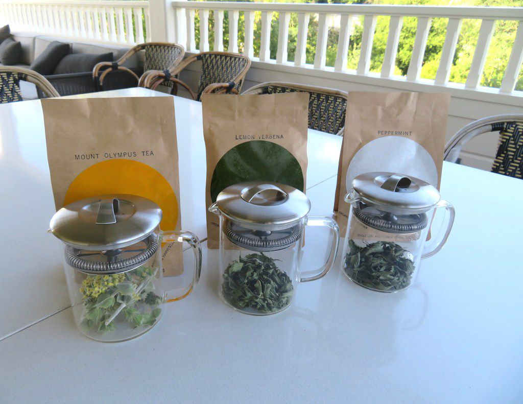 Erda Tea offers several organic, whole-leaf teas, such as the new Mount Olympus, Lemon Verbena and Peppermint.