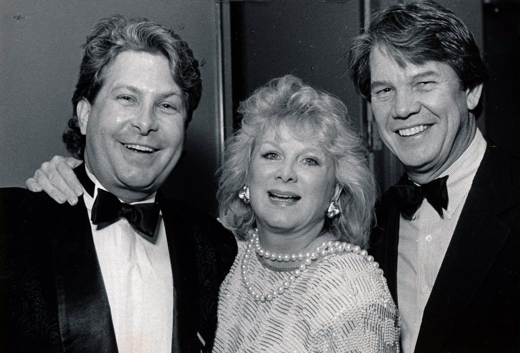 Paul Neinast with Carol Lee and John Lee in 1989
