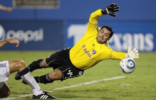 Darío Sala con FC Dallas en 2010 (Photo by Ronald Martinez/Getty Images)