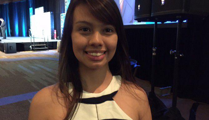 Karen Sánchez participó en un programa de pasantías organizado por la Alcaldía de Dallas. (AL DÍA/ANA E. AZPURUA)