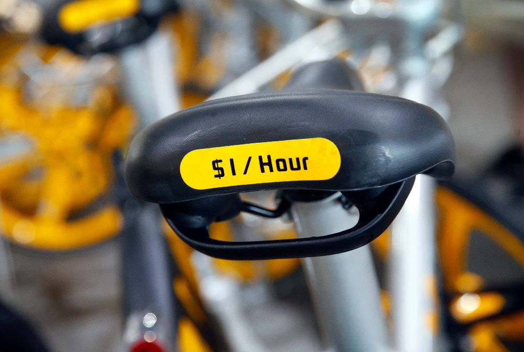 VBike, a rent-a-bicycle via downloadable app startup, cost $1 per hour,