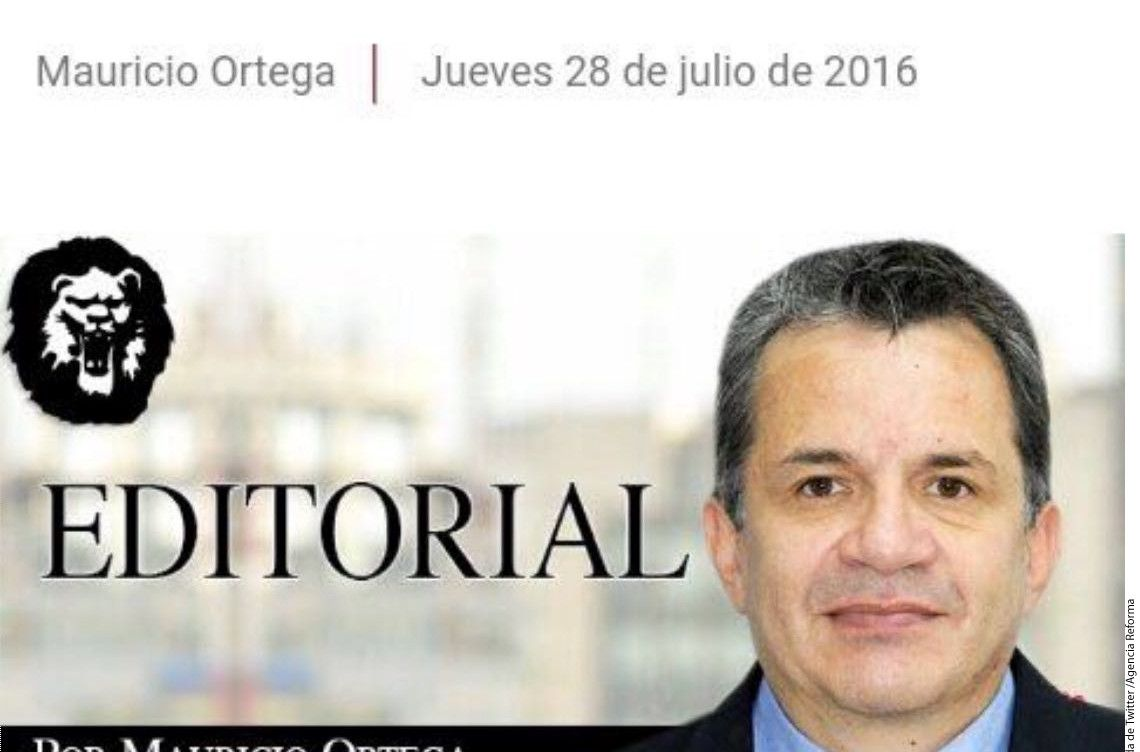 Mauricio Ortega, ex director del diario La Prensa, fue señalado como el presunto ladrón del jersey de Tom Brady tras el Super Bowl 51.