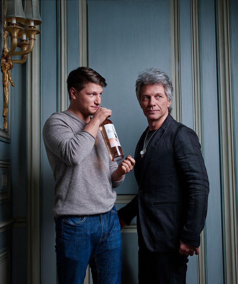 Hampton Water is a new line of rose wine created by Jon Bon Jovi and his son,  Jesse Bongiovi.