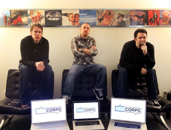 From left: G.I. Sanders, Tony Edwards and Jaye Miller founded Fancorps, social media ambassadors and endorsers for the music industry. The company is spreading out to brands, such as Chili's Grill & Bar.