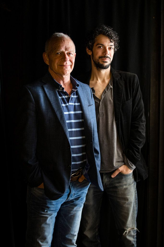 Executive director Gregory Patterson (left) and artistic director Joey Folsom are co-founders of the Classics Theatre Project.