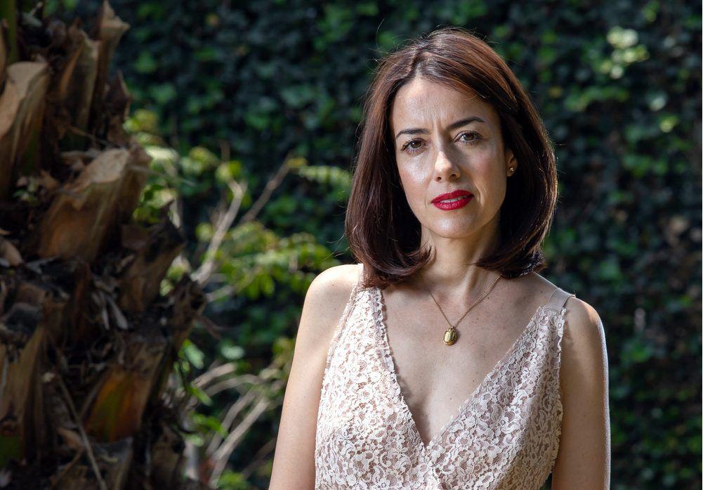 La mexicana está nominada al galardón a la Mejor Interpretación Femenina en Miniserie o Teleserie, en los Premios Platino del Cine Iberoamericano 2019. AGENCIA REFORMA
