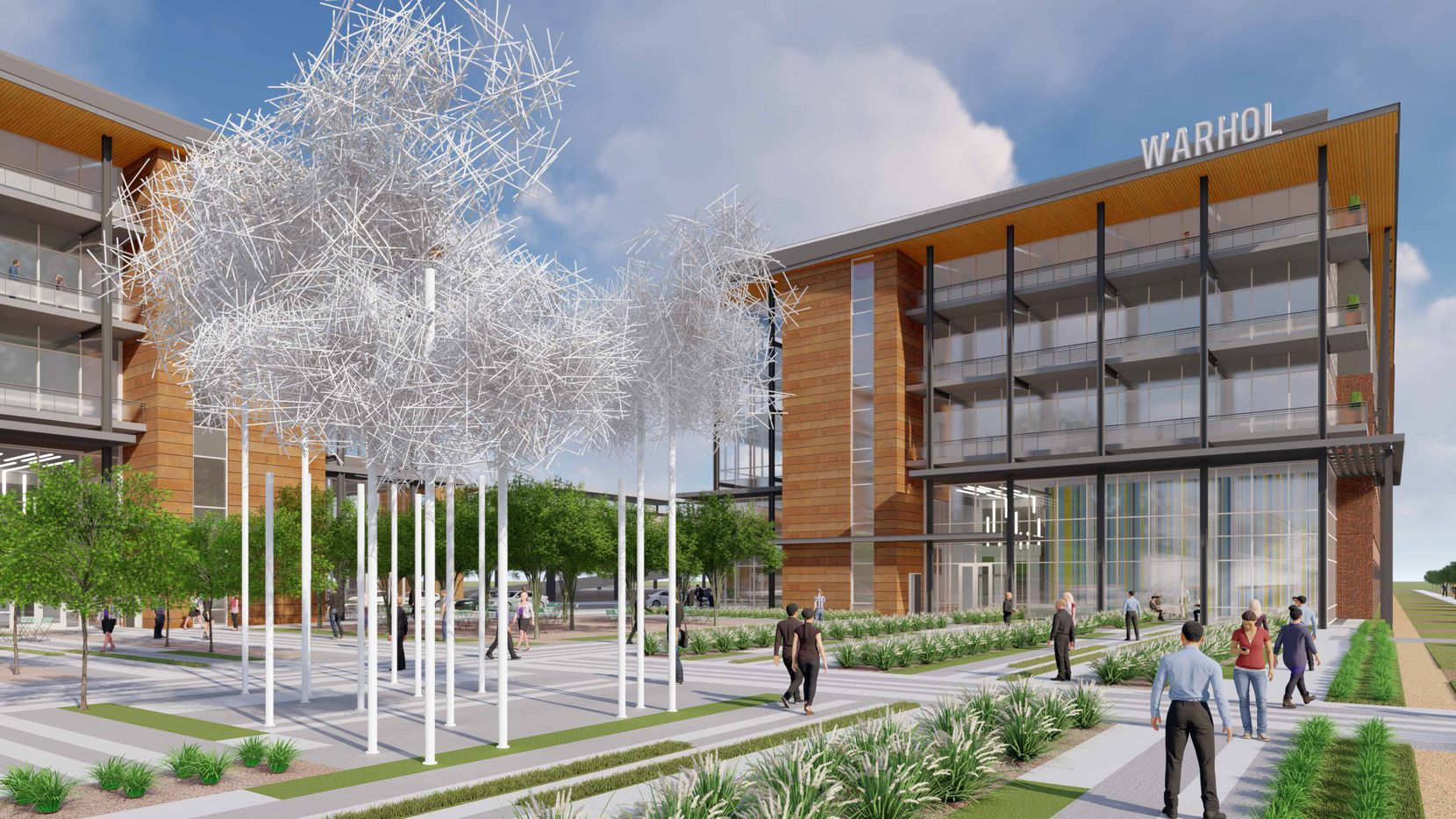 Two more office buildings are on the drawing board at Cypress Waters.