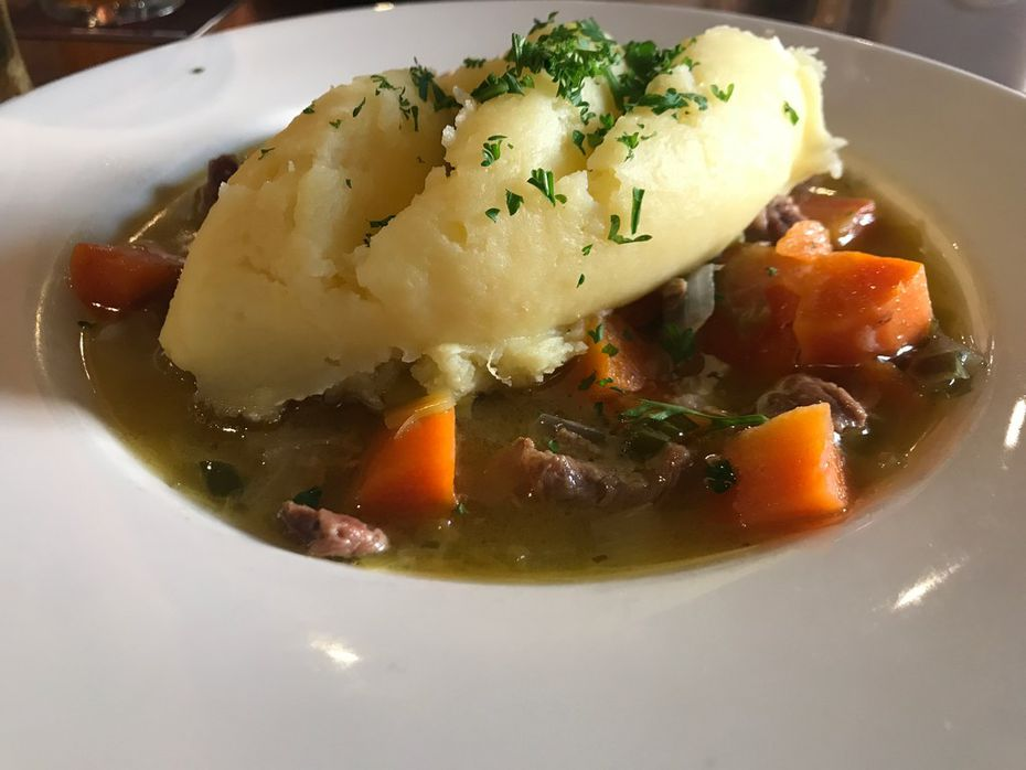 The lamb stew with mashed potatoes at P.F. McCarthy's in Kenmare, Ireland, was part of the best meal of our trip.
