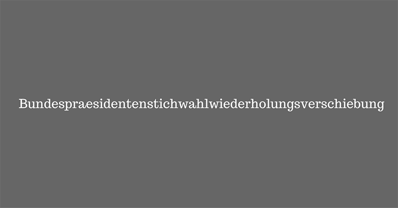 La palabra del 2016 en Austria.