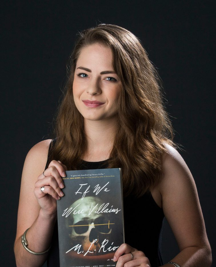 """M.L. Rio, author of """"If We Were Villains,"""" says that writing a book is not romantic, but a lot of hard work. Her new book is a literary thriller in the mold of classic Shakespearean drama."""