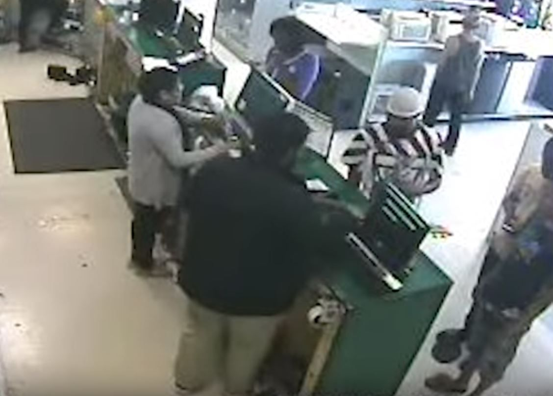 Video from a pawnshop shows Brian Bennett and two other men selling the property of a murder victim. As a favor to a friend's son, Bennett handed over his own ID to make the sale.