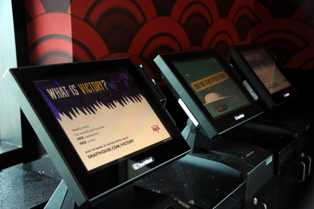 Guests can skip the line and order tickets at the kiosk.