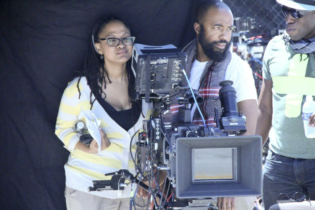 "Director Ava DuVernay worked with cinamatographer Bradford Young on the set of ""Middle of Nowhere."" DuVernay found her way into her own film school, working as a publicist for prominent directors.  DuVernay won the Grand Jury Prize and Best Dramatic Director at Sundance in 2012 for the film."