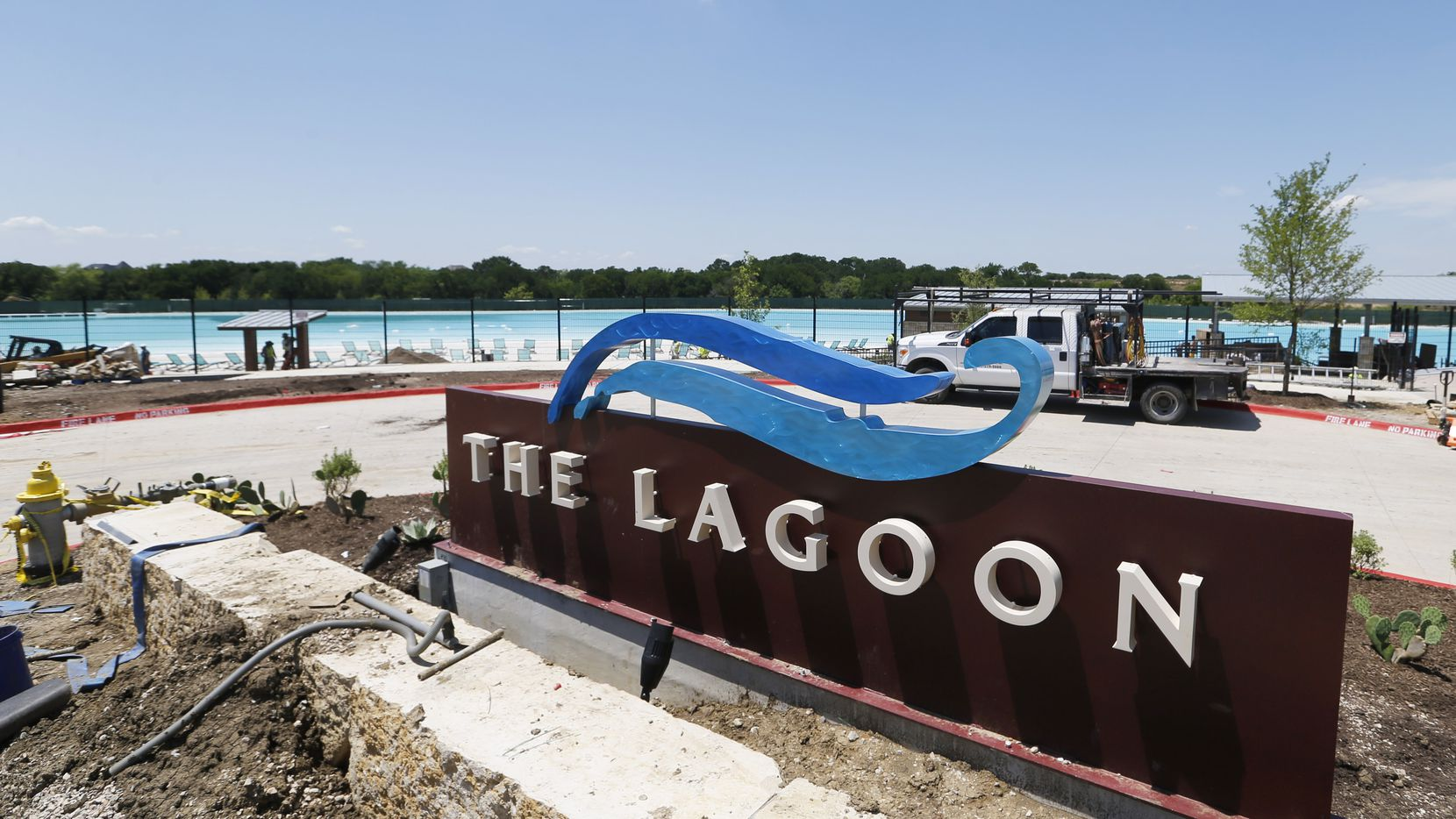 Prosper's Windsong Ranch community is opening its 5-acre Crystal Lagoon water feature this weekend.