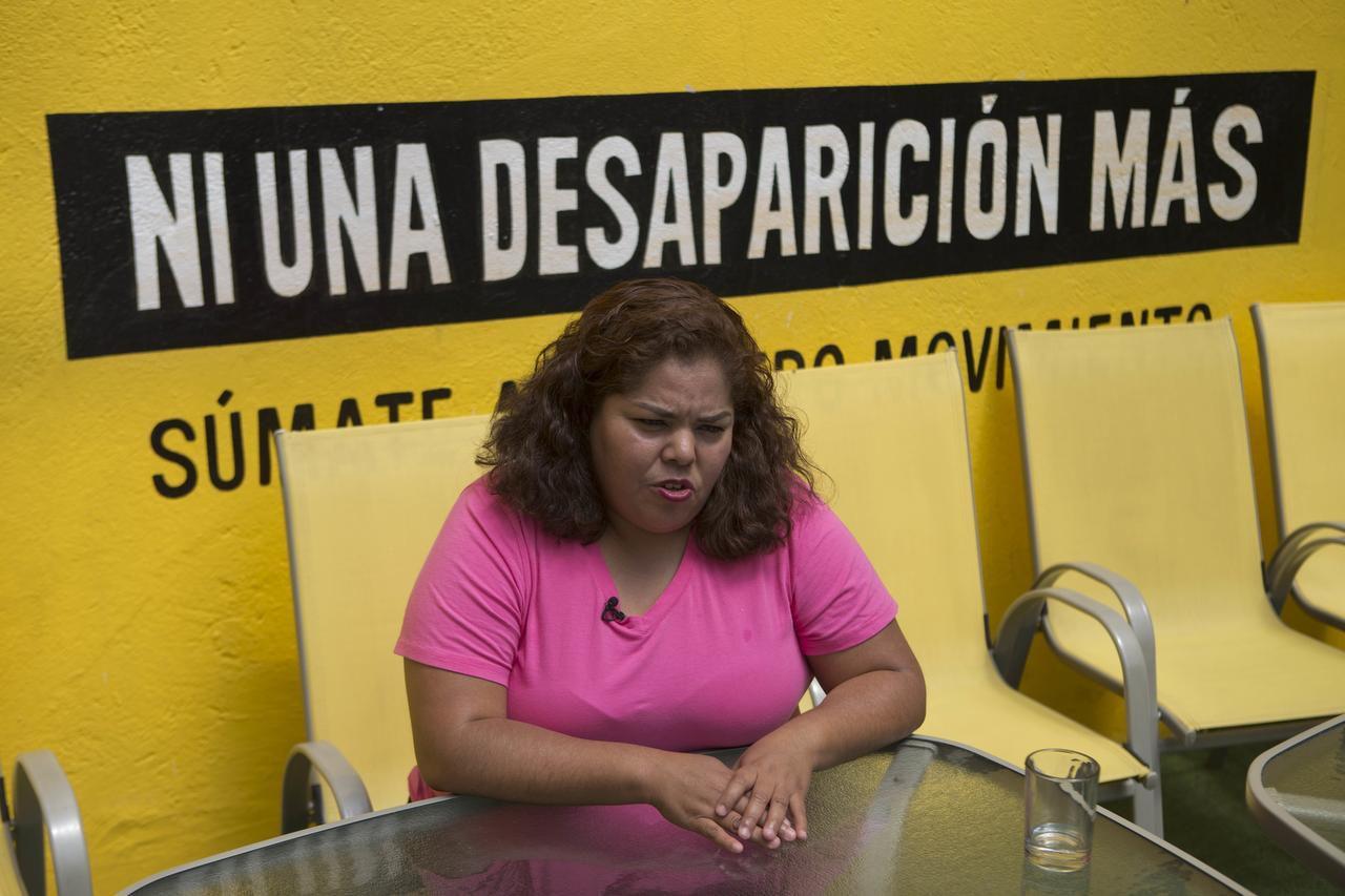 Claudia Medina Tavariz fue torturada y abusada sexualmente por horas tras ser detenida por militares en Veracruz. (AP/EDUARDO VERDUGO)