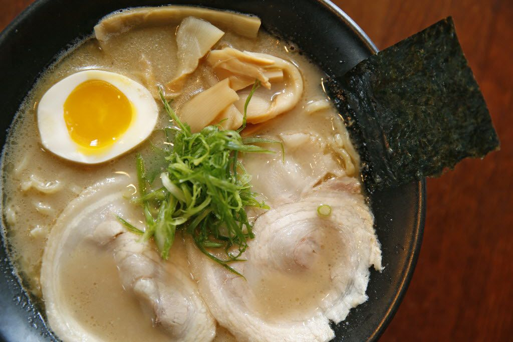Plano boasts incredible diversity in its restaurants, helping the Dallas metro area earn a place as the fourth-most diverse dining city in the United States. Japanese restaurants, such as Yama Izakaya and Sushi, have been booming deliciously. Pictured is a bowl of ramen at Yama.